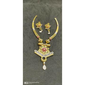 916 Designer Ladies Fancy Necklace Set - 56072