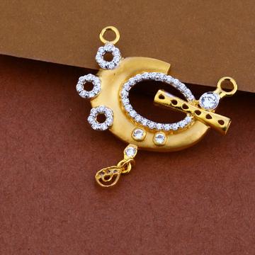 916 Gold Cz Design Pendant ML96