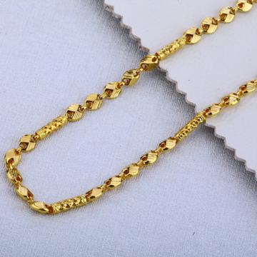 916 Gold Fancy Choco Chain MCH134