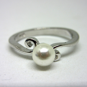 Silver 925 pearl ring sr925-253