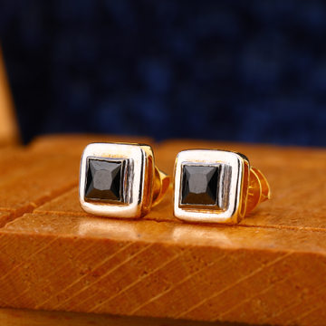 916 gold mens classic earrings me 18