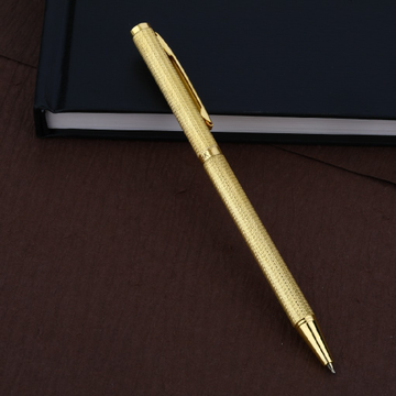 Mens 18K Plain Gold Ball Pen-BP02