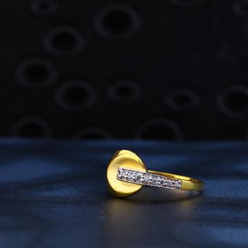 916 Gold Classic Hallmark Ring LR156