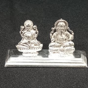 Silvar Laxmiji ganpati by Rangila Jewellers