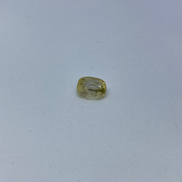 3.21ct cushion yellow yellow-sapphire-pukhraj by