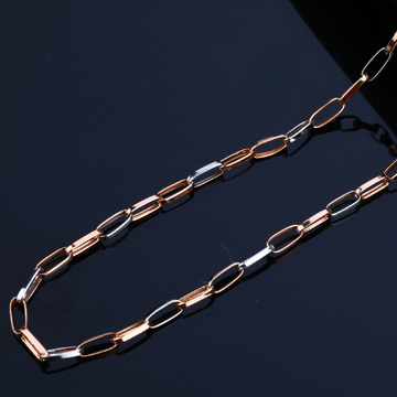 Mens 18K Rose Gold Chain-RMC27