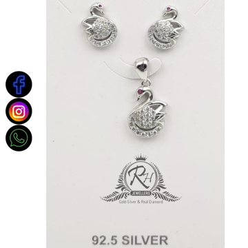 92.5 silver classical pendants earrings RH-PE620