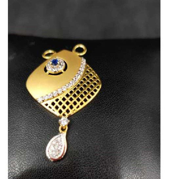916 Ladies Fancy Gold M S Pendant M-33502