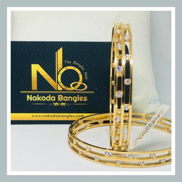 916 Gold CNC Bangles NB - 723