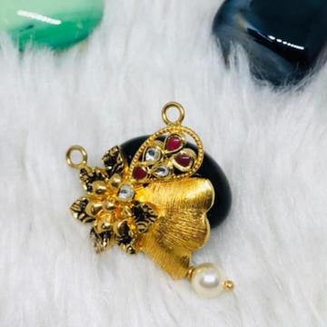 916 Gold Jadtar Mangalsutra Pendants msp-0005