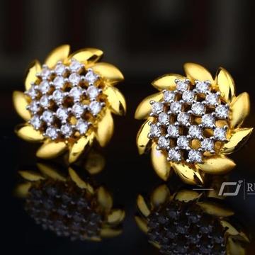 916 Gold Round Butti RH-B001