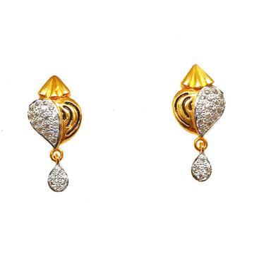 22K Gold Designer Earrings MGA - BTG0285