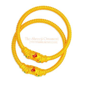 916 Gold Variya Copper Kadali - 009