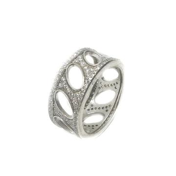 925 Sterling Silver Oval Shape Thumb Ring MGA - LRS0057