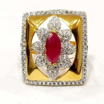 22 k gold fancy ring. nj-r01017