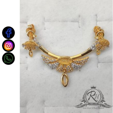 22 carat gold daimond pendants RH-PD871
