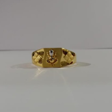 22 kt 916 gold casting ring by