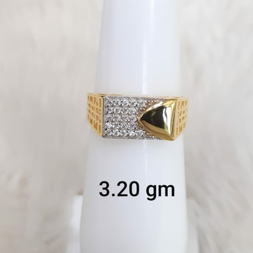 916 Fancy light weight gent's ring by