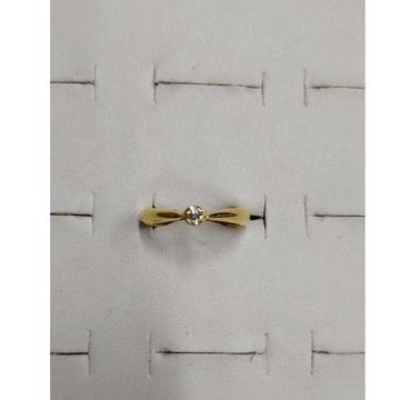 916 Plain Gold Ladies Ring