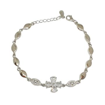 925 Sterling Silver Designer Bracelet MGA - BRS1755