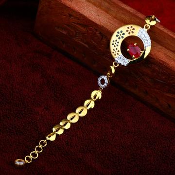 22Kt Gold stylish Bracelet For Women RJ-B02