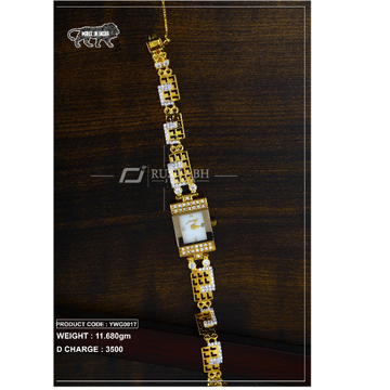 18 Carat Gold Ladies gold watch ywg0017 by