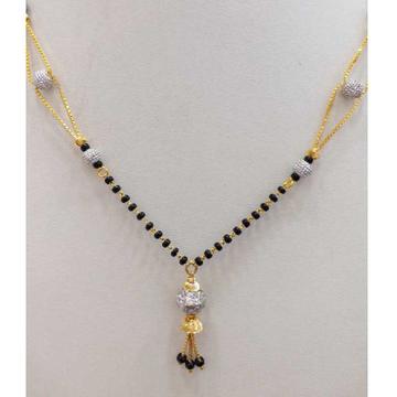 916 gold chain mangalsutra RJ-M025