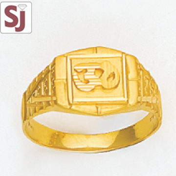 Om Gents Ring Plain GP-K-1365