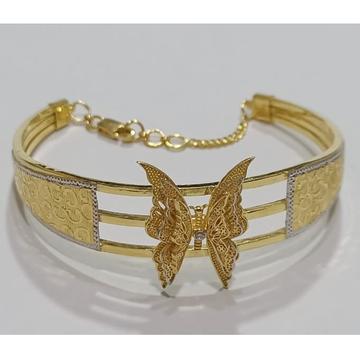 22kt gold butterfly design bracelet sg-b10