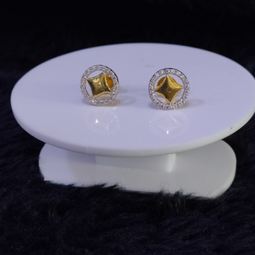 22KT/916 Yellow Gold Shelby Earrings For Women