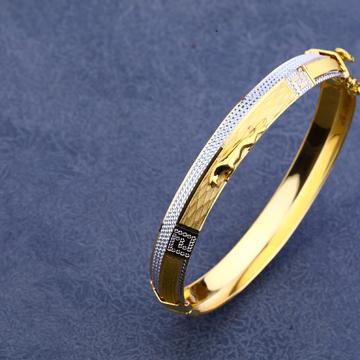 916 Gold Exclusive Punjabi Hallmark Kada MPLKB14
