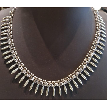 Silver New Stylish Necklace  by