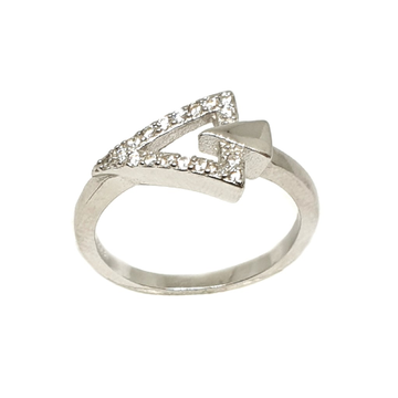 925 Sterling Silver Fancy Ring MGA - LRS3395