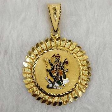 Mahakali god gold pendant