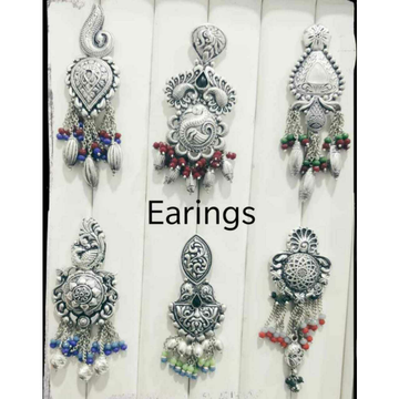 92.5 Sterling Silver Casting Earring Ms-3501