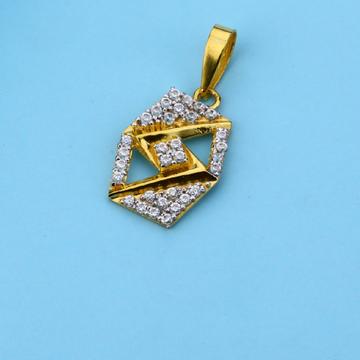 916 Exclusive Gold Hallmark Fancy Pendant LFP26