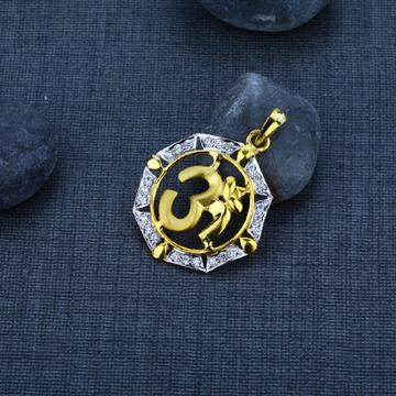 Men's Exclusive 916 OM Gold Pendant- GP28