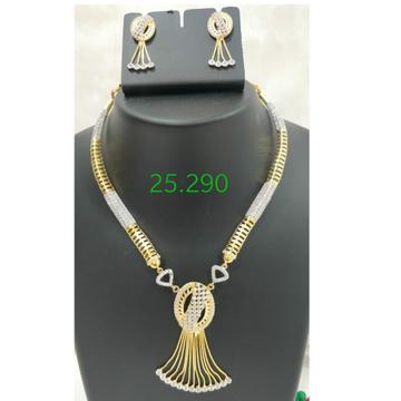 916 Gold CZ Dokiya with Butti RH-DK83
