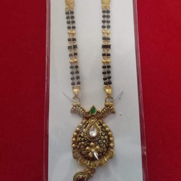 22k(916)Gold Ladies Antique Mangalsutra by Sneh Ornaments