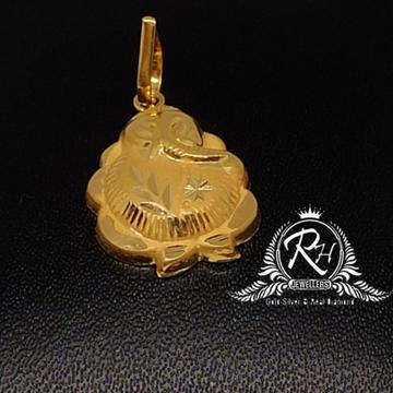 22 carat gold ganesh pendal RH-PL