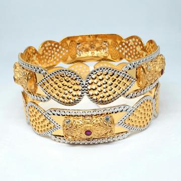 1 gram gold forming bangles mga - gf0054