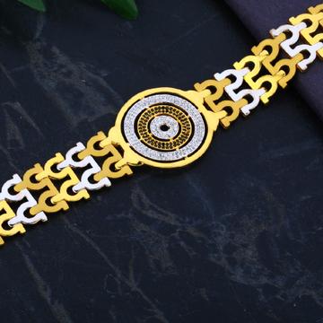 Men's Designer 22K Casting Bracelet- MCB34