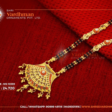 22kt mangalsutra by