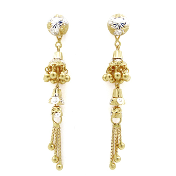 22K gold hanging earring by
