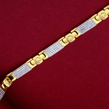 22KT Gold Lawrence Bracelet For Men