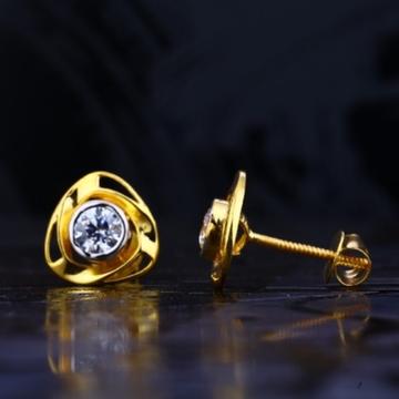 22 carat gold fancy ladies earrings RH-LE721