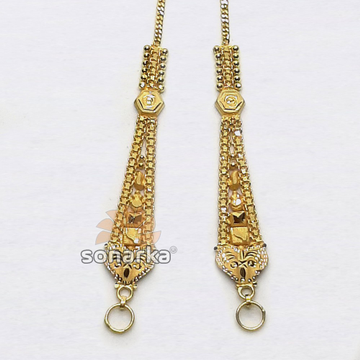 Gold Earchain SK - K026