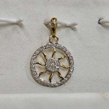 916 Classic Gold Ladies Pendant