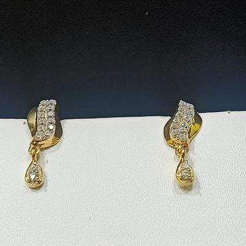 18CT Trendy Design Gold Hallmark Earring  by