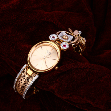 18KT Rose Gold Fancy Women's Watch RLW157